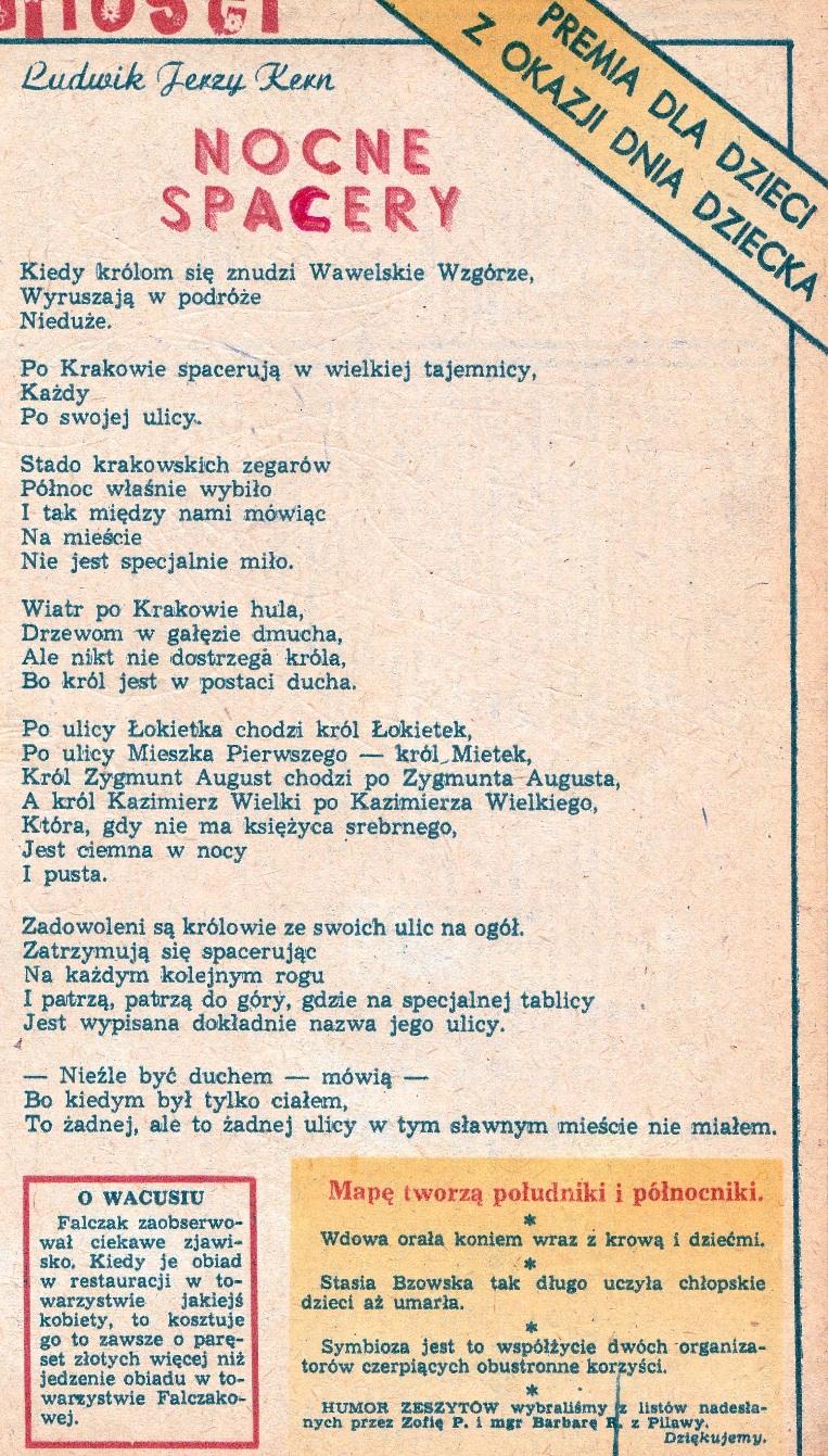 Ludwik Jerzy Kern Bibliotekarka Szkolna